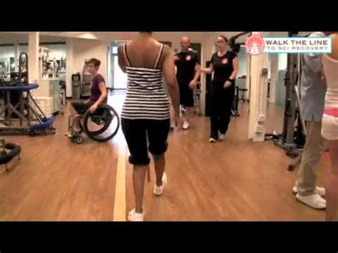 gait pattern youtube emebet c1 t1 recovery trainer uses pole placement exercise