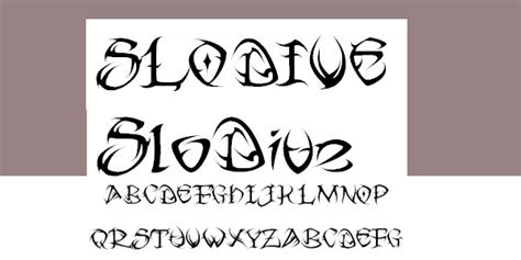 tribal font tattoo fonts style fashion club