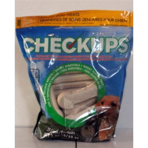 checkups dental treats pet supplies dental treats checkups brand 1 x 24 portions 1 36 kg for