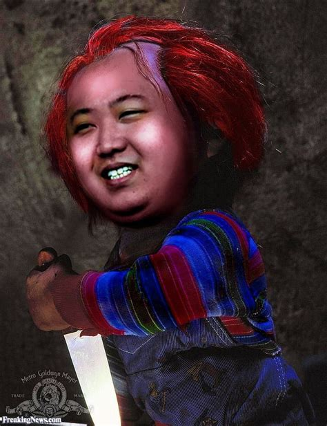 donald and chucky doll chucky s pictures freaking news