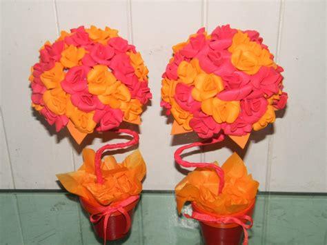 distintos tipos de flores en goma eva flores de goma eva