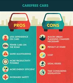Electric Car Pros And Cons S New Driverless Car Fix