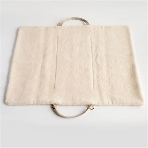 travel bed wool bed bag