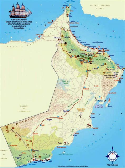 middle east map toyota worldrecordtour weltrekordreise asia middle east oman