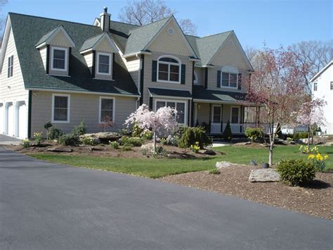 front of house landscaping in orange county ny this