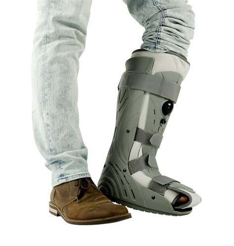 ortholife rugged closed toe walker fracture boot cast