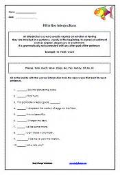 interjections worksheets abitlikethis