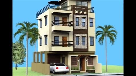 small 3 story house plans small 3 storey house with roofdeck youtube