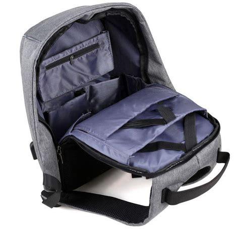 Ransel Backpack Anti Maling Thief High Quality Material Serial tas ransel laptop anti maling dengan usb charger port