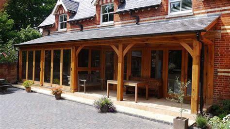 Contemporary Open Floor Plans oak veranda amp oak conservatory berkshire david salisbury