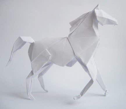 Origami Horses - origami paper