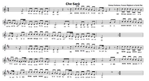 gioca con me testo musica e spartiti gratis per flauto dolce