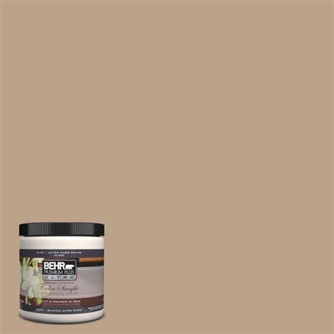 behr ultra  oz   harvest brown matte interior