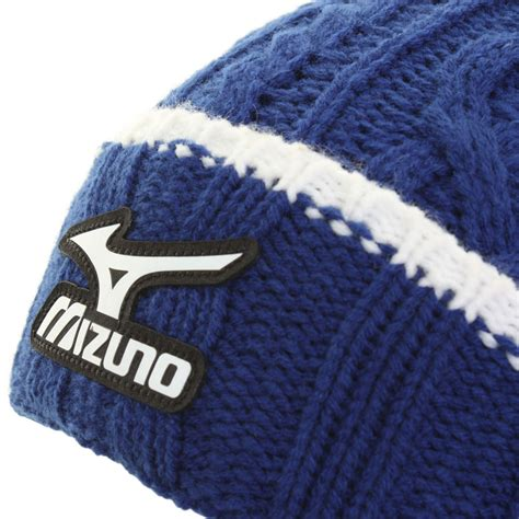 mens cable knit beanie hats mizuno golf 2015 mens cable knit bobble pom pom knitted