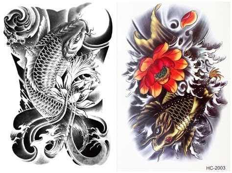 popular cool flower tattoo buy cheap cool flower tattoo