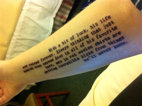 hunter s thompson tattoo s thompson tattoos contrariwise literary tattoos