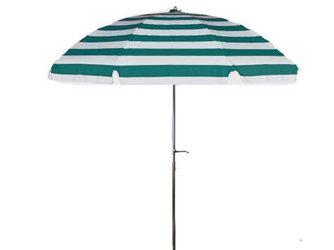 Teal Patio Umbrella 7 1 2 Diameter Patio Teal White Stripe Commercial Outdoor Umbrella Crank With Tilt 9 Oz