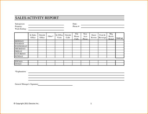 sales manager monthly report templates sales and marketing report template mickeles spreadsheet