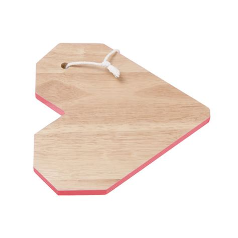Cutting Origami - origami cutting board neon orange homeware