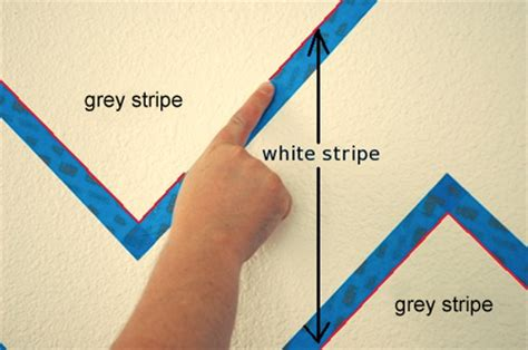 painting stripes on textured walls home dzine how to paint stripes on textured walls
