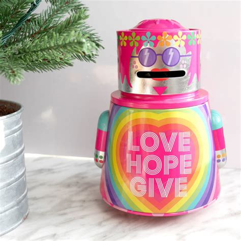 the shop values gift robot money box swatch and review
