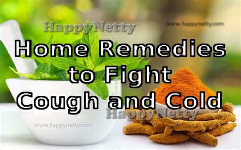 5 best home remedies for cough and cold happynetty