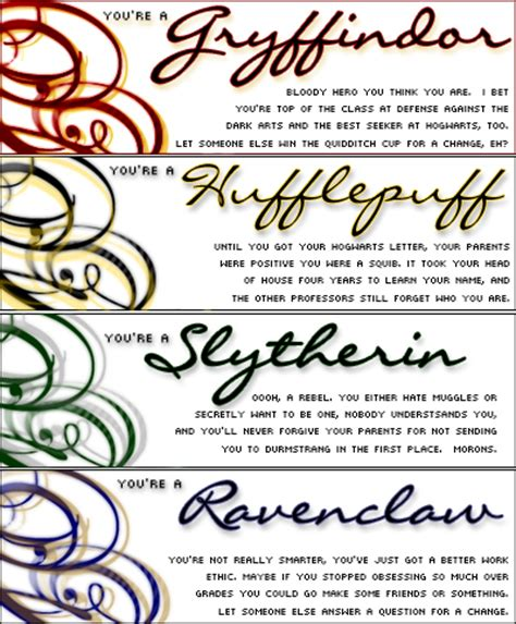 hogwarts house descriptions hogwarts houses harry potter vs twilight photo 15664791 fanpop