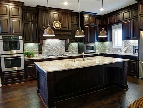 pictures of kitchens traditional dark wood kitchens 25 traditional dark kitchen cabinets dark kitchens and