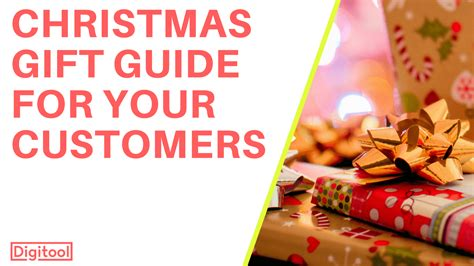 christmas gift guide for your customers digitool