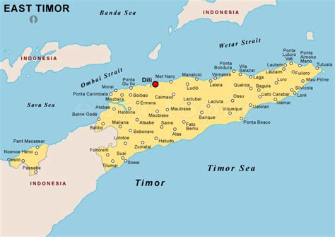 east timor map asia asia is a continent with many countries