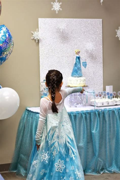 frozen themed birthday games frozen themed birthday party with lots of really cute