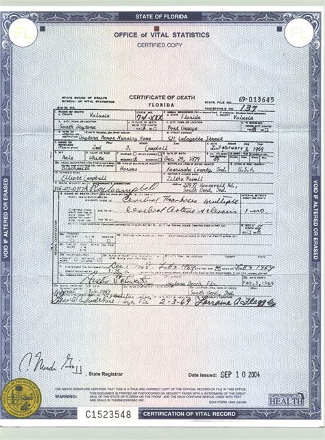 Birth Records Florida Florida Birth Certificate Record Marriage License