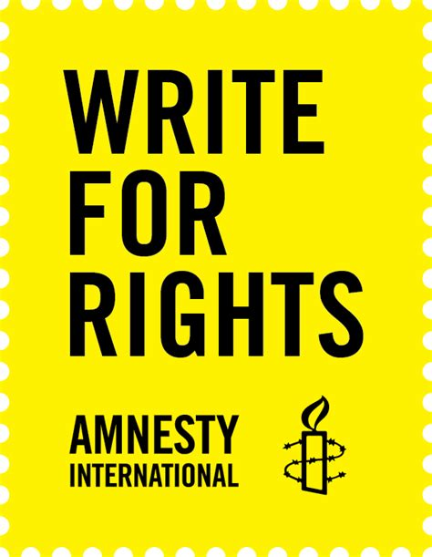 amnesty intern write for rights amnesty international usa