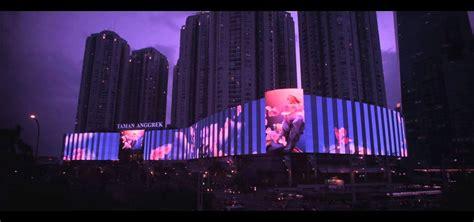 Led Jakarta id mall taman anggrek jakarta led facade