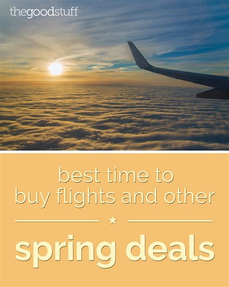 when is the best time to buy a couch best time to buy flights and other spring deals thegoodstuff