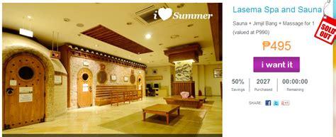 korean salon manila review lasema spa and sauna p495 sauna jimjil bang