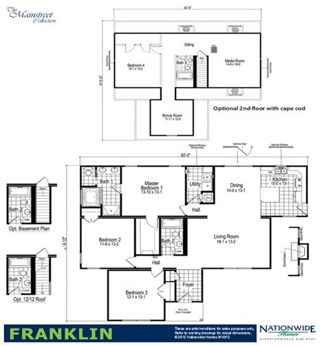 southern mobile homes floor plans the franklin modular home floor plan the franklin