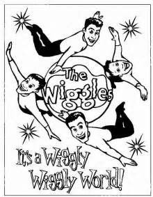 the wiggles coloring pages free printable wiggles coloring pages for