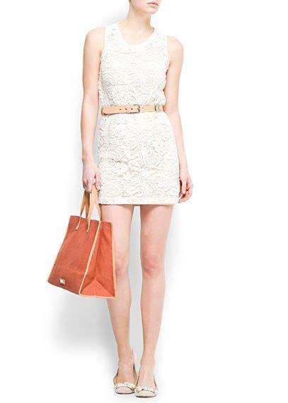 Lace Up Cotton Skirt Mango cotton blend cardigan my style