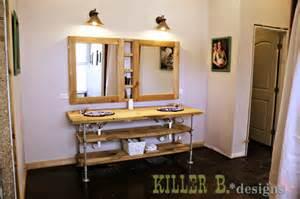 Build A Bathroom Vanity by Reclaimed Wood Industrial Vanity Killer B Designs