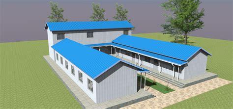 prefab school design  nepal post earthquake prefab