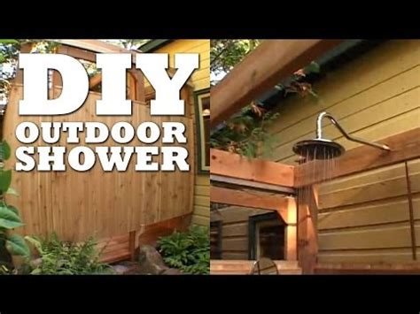 cottage outdoor shower how to build an outdoor shower cottage