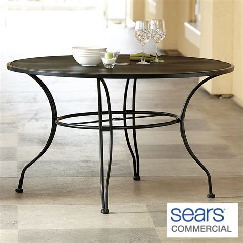 commercial grade patio furniture grand resort commercial grade 48 quot sted patio dining table limited availability