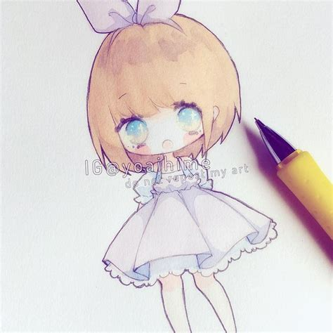 instagram chibi tutorial 人 yoaihime pinterest ps
