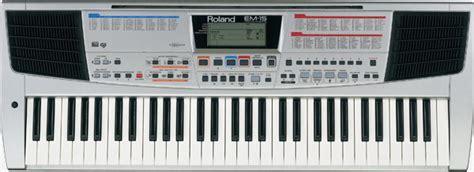 Keyboard Roland Em 15 roland em 15 creative keyboard