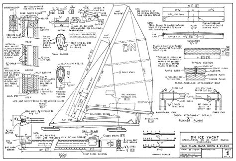 wooden ice boat plans ice boat plans sunfish