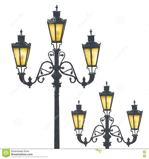 decorative street lights for sale decorative street ls stock image image 14050771