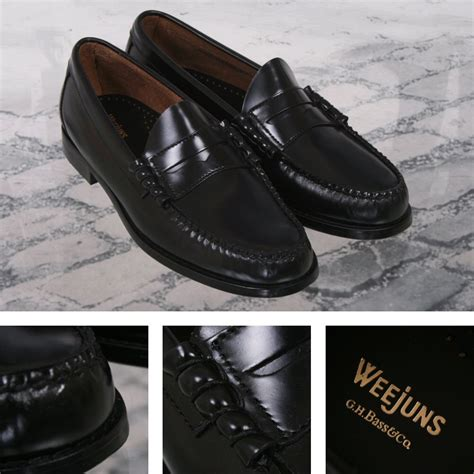 league loafers bass weejuns classic league mod 60 s leather