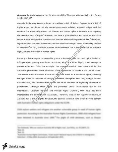 Human Rights In Malaysia Essay by International Human Rights Opinion Essay Jurd7781 International Human Rights Thinkswap