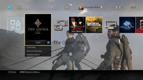 themes ps4 uk free the order 1886 ps4 dynamic theme available on the